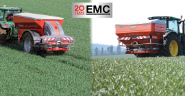EMC Fertilizer Spreader - 20 years