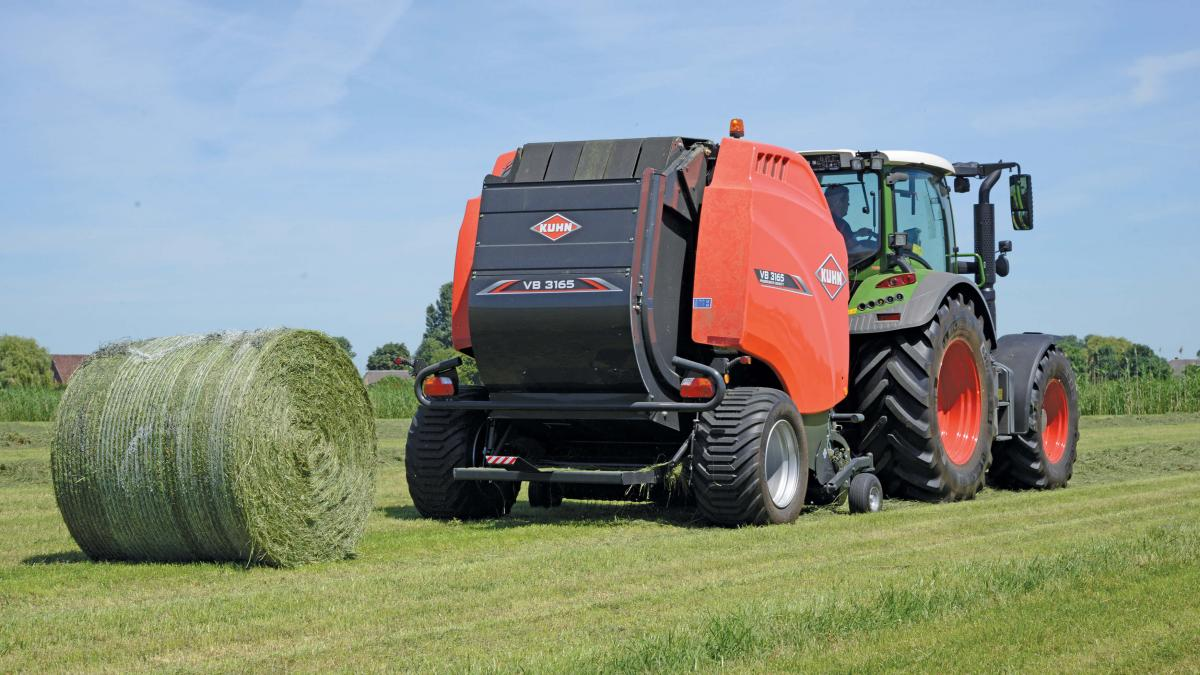Fast, Simple & Reliable - KUHN VB 3100 Series Round Balers