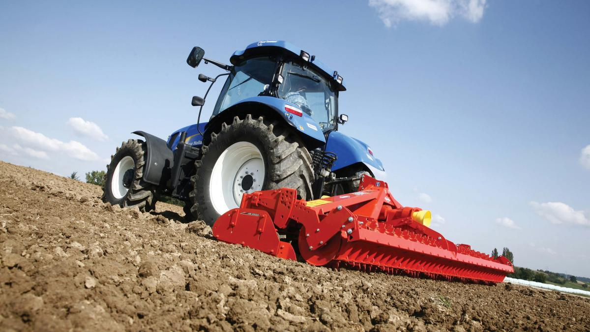 Rotavator is a tractor drive rotary tillage machine used to
