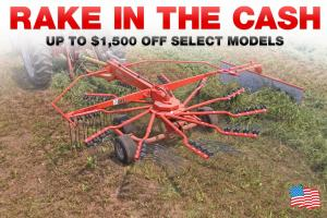 KUHN Rake in the Cash Coupon