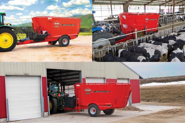 KUHN Knight VT 100 Series Vertical Maxx® Twin-Auger Mixers
