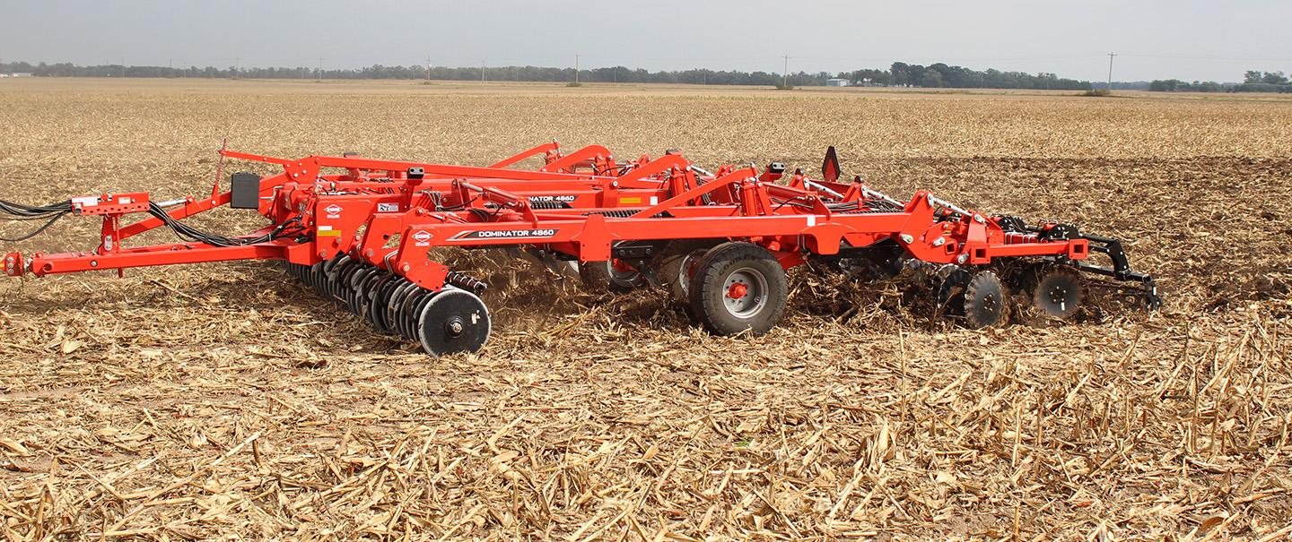 Dominator 4860 in the field.